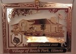 Village of Beach Park Ornament
