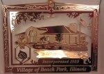 Village of Beach Park Ornament
