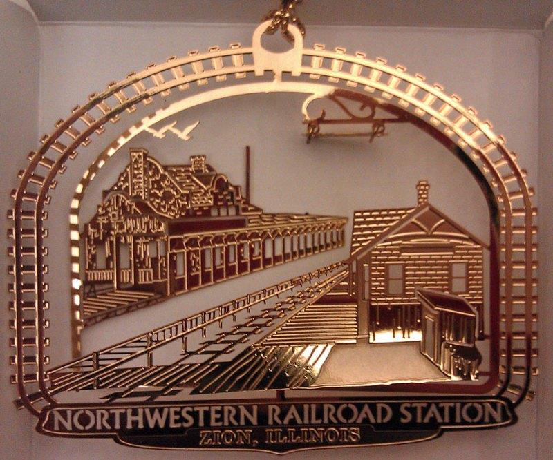 Northwestern Railroad Station, Zion